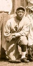 Vic Harris with the 1930 Homestead Grays.