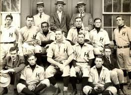 William Clarence Matthews with Harvard Baseball Team