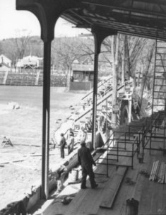 Doubleday Field renovation, 1939