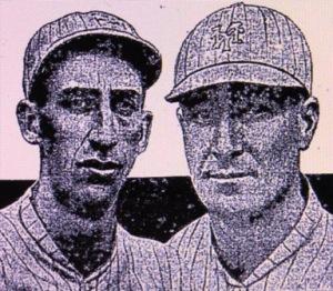 Pol Perritt and Benny Kauff, 1917