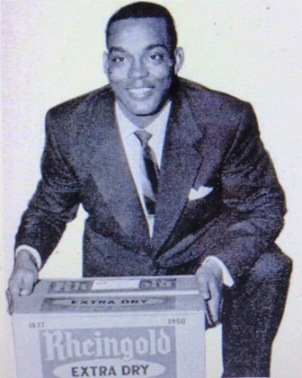 Irvin worked as a salesman for Rheingold Beer during the off season.