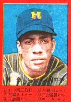 Larry Raines, Japanese baseball card