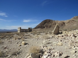 Rhyolite, Nevada--ghost town, 2013