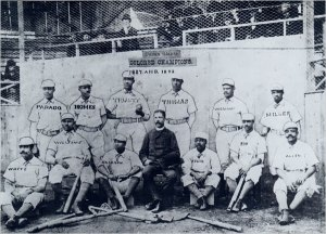 "1887-88 Cuban Giants--""virtually the champions of the world."""