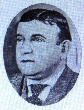 "Michael Angelo ""Mique"" Fisher, circa 1905"