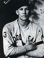 Rudy York, circa 1930, with local textile mill team.