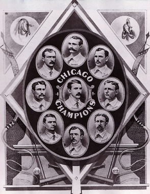 Chicago White Stockings, 1876 National League Champions--and highest salaried team.
