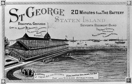 The St. George Cricket Grounds--home of the 1886-87 Metropolitans. The Giants would play a handful of home games there in 1889.
