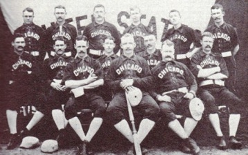 The Chicago White Stockings defeated the Detroit Wolverines 8-2 on July 9, on there way to the 1886 National League championship