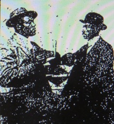 Jack T. Johnson and George Washington Weldon, 1912