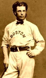George Wright, Red Stockings shortstop missed the first game