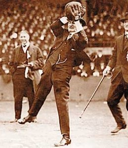 Charlie Bennett threw out the first pitch at every Detroit Opening Day from 1896-1926...he died in February of 1927.