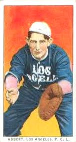 Fred Abbott with Los Angeles Angels 1911