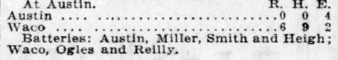 Ogle's 1914 no-hitter