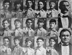 The 1903 Memphis Egyptians--