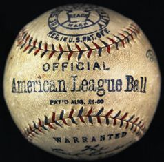 Reach Official American League ball 1920s
