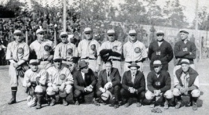 Joe Bush, front, second from right