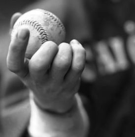Ed Cicotte's knuckleball grip