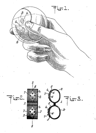 "Wilbur Winquest's patented ""Curver"""