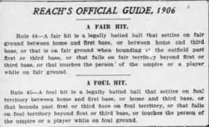 """The Washington Times used """"The Reach Guide"""" to illustrate how Hurst blew the call."""