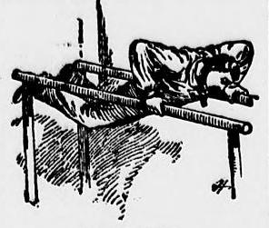 Ward said the parallel bars ruined him as a pitcher
