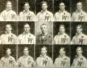 With the addition of Heitling (4) and Young (10) Wichita easily won the 1907 Western Association championship.