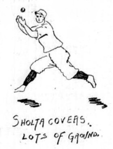 Charles Sholta--drawing from Richmond newspaper