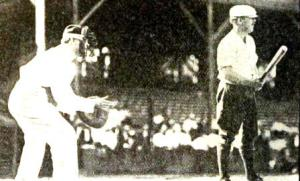 congressman Longworth at the plate.
