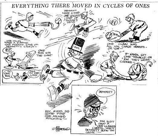 Baer's cartoon that accompanied the article