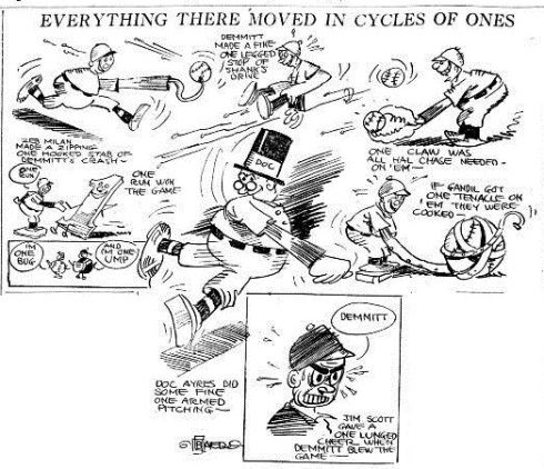 Baer's cartoon that accompanied the article