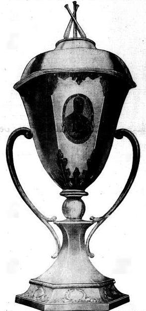 Cup presented to Johnson by The Washington Times