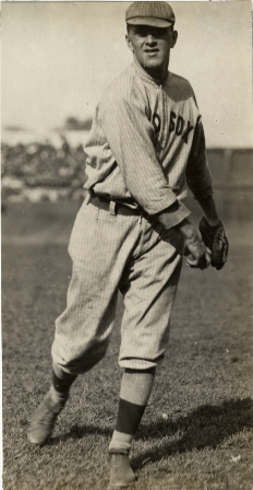 Hugh Bedient was 1-0 for Boston with a 0.50 ERA in 18 innings