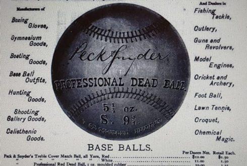 A circa 1877 advertisement.