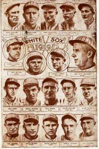 1919 White Sox, Jenkins is bottom left
