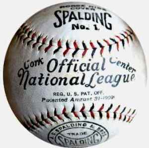 Spalding Official National League Ball, circa 1919