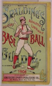 The 1908 Spalding Guide