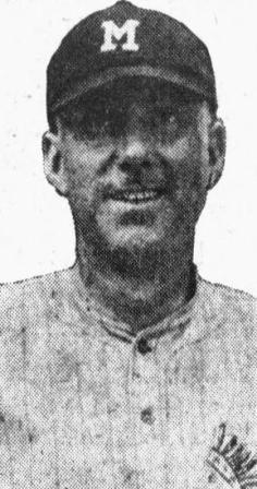 Slattery with Memphis, 1918
