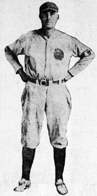 Slattery with the Brigham City Peaches, 1922