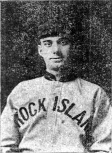 Joe Slattery, Rock Island, 1910