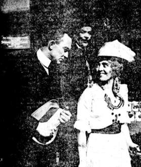 Ty Cobb and leading lady Elsie MacLeod