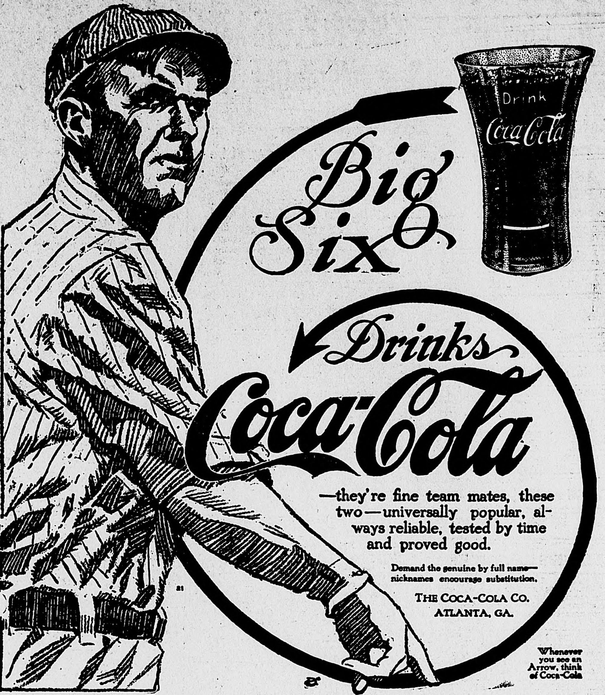 Lost Advertisements: Big Six for Coke